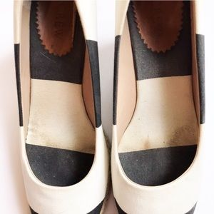 Shoes - J Crew Seville Colorblock Espadrille Wedges